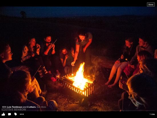 Springhill Farm Riding Stables: Campfire