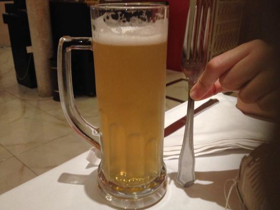 Restaurante Rey Moro: Jarrita de cerveza