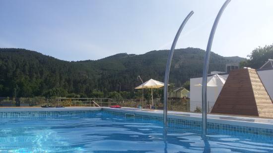 Boticas, โปรตุเกส: Vista piscina