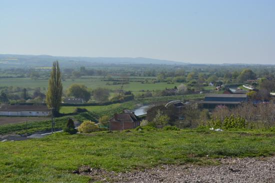 a view from the top of burrow mump