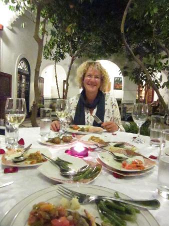 Ryad El Borj: At  dinner