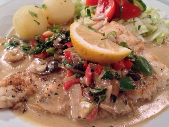 "Lofotstua: Pan-fried Cod ""gourmet style"""