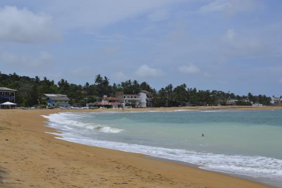 Black Beauty Guesthouse: The beach is 5 minutes walk, just across the road.