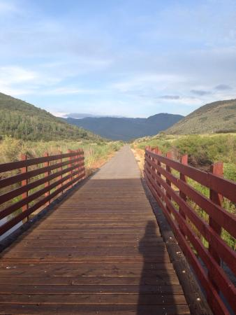 Union Pacific Rail Trail: I accidentally made my way onto this trail and it was one of the most beautiful runs I have been