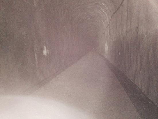 Easton, WA: Inside the tunnel