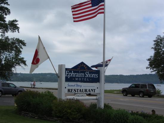Ephraim Shores Resort: The hotel.