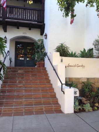 The Spanish Garden Inn Entrance Picture Of Spanish Garden Inn Santa Barbara Tripadvisor