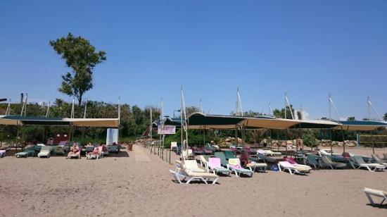 Belconti Resort Hotel: Beach