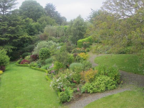 Villa Ker huel : Vue sur le jardin, depuis la chambre