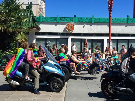 Old Town: Pride parade going through Chinatown
