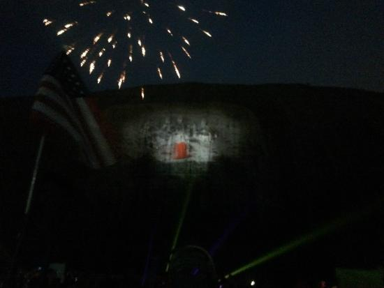 fireworks were spectacular picture of lasershow spectacular at