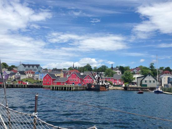 Star Charters Day Tour: Wonderful view of Lunenburg