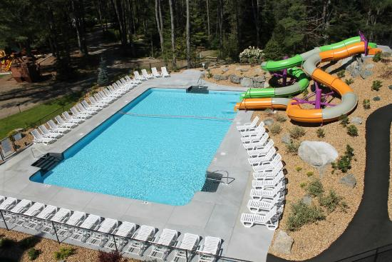 Mountain Lake Campground and RV Park: Pool and Water Slides