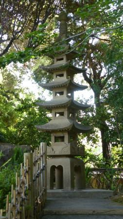 San Mateo, Καλιφόρνια: Each of the layers in the pagoda have meaning