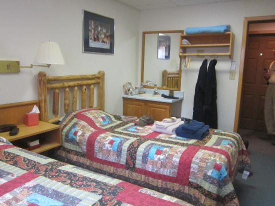 Bettles Lodge: Aurora Lodge Room