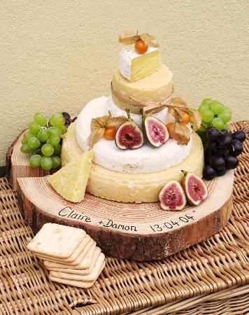 Rosebush, UK: Celebration Cheese cake we supply the cheese you decorate