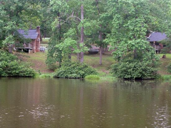 Rustic Cabins At Cub Lake Picture Of Natchez Trace State