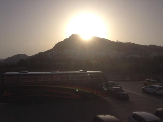 Mojacar Playa Hotel: View from 4th floor