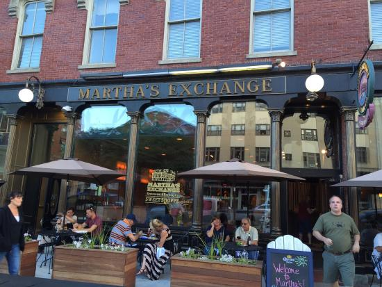 Martha's Exchange Restaurant and Brewing Co.: photo0.jpg
