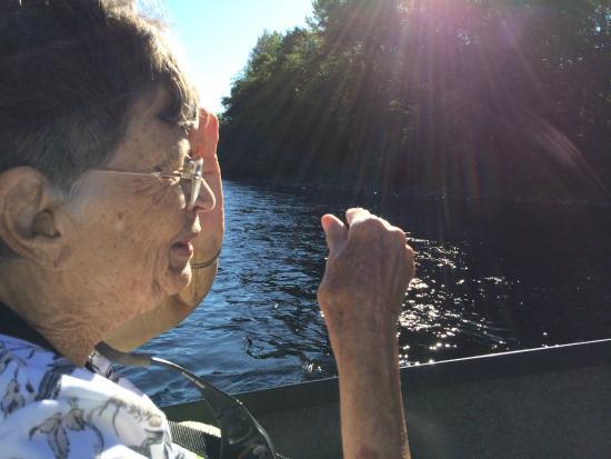 Helfrich River Adventures: Mom enjoying the view
