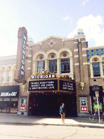 Michigan Theater: Nice old theater