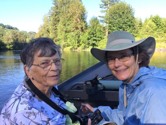 Helfrich River Adventures: Mom and me