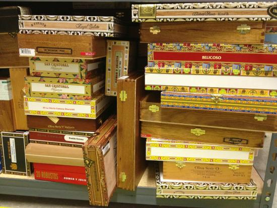 upcycle creative reuse center cigar boxes are for sale