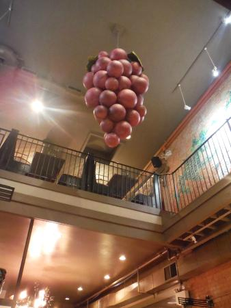 interior stairway with grape light fixture picture of the original rh tripadvisor com