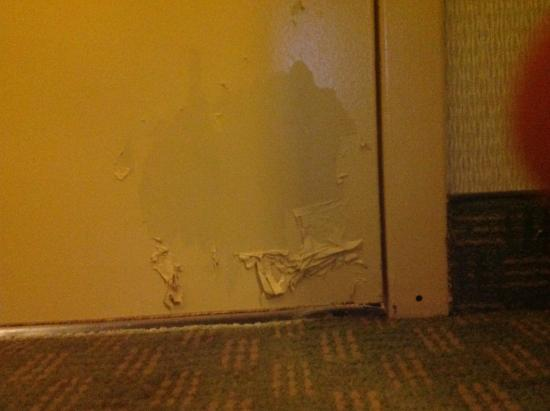 Holiday Inn Express Cincinnati West: Paint job on door