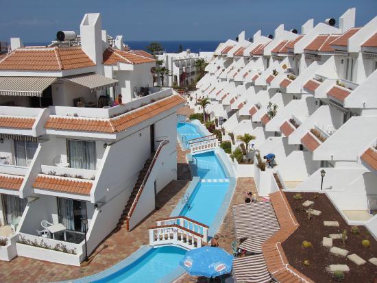 Las Floritas Apartments View From Balcony
