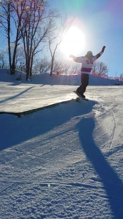 Algonquin, IL: Always a great time at Raging Buffalo Ski & Snowboard Park