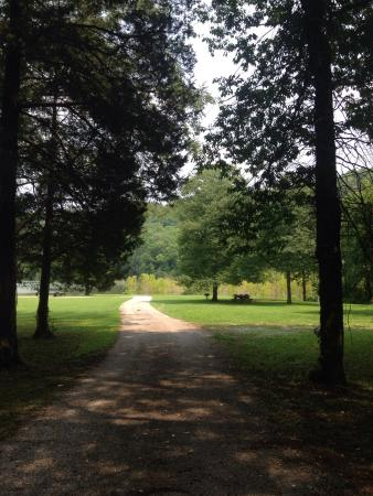Nancy, KY: Path to camping