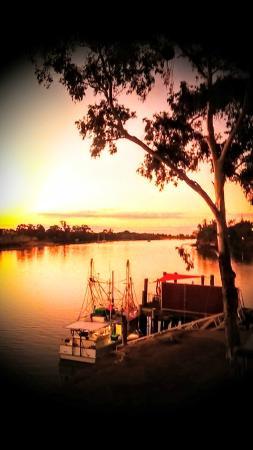 Grunske's: Around Burnett River sunset in July