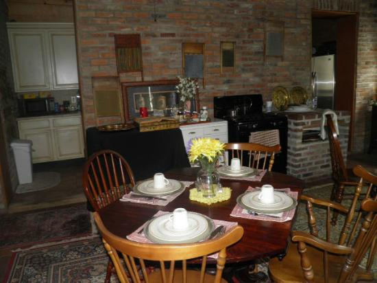 Susanna's Guest House: Dinning Room