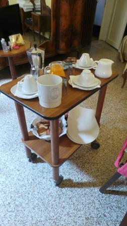 B&B Palazzo Minelli : Breakfast!
