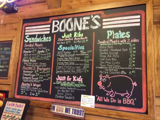 Bolivar, MO: Excellent menu with lots of options