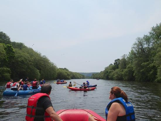 Whitewater Challengers: rafting- Lehigh river