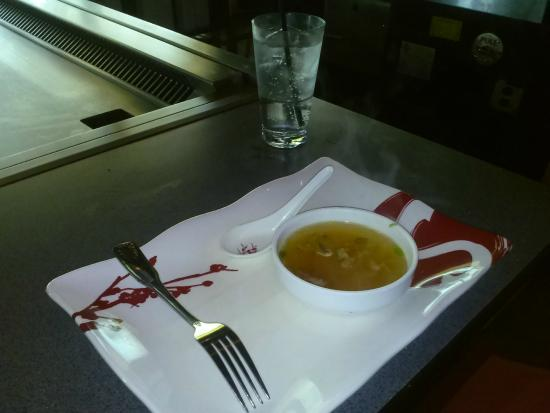 Saito Japanese Steakhouse : Soup