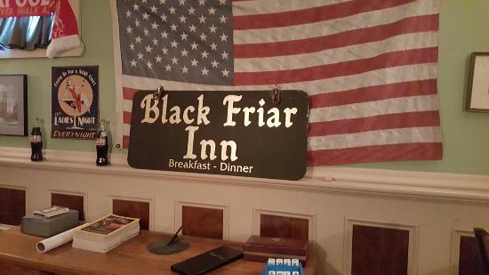 Black Friar Inn and Pub: July 4th weekend 2015