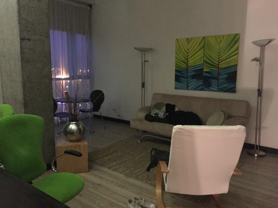 Sercotel Habitat Hotel : Living room area