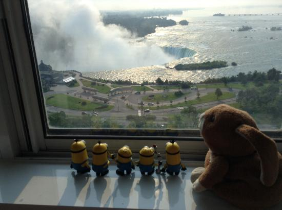 Niagara Falls Marriott on the Falls: Mignons love the view