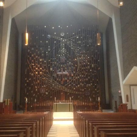 New Canaan, CT: The Reredos, Salvation history