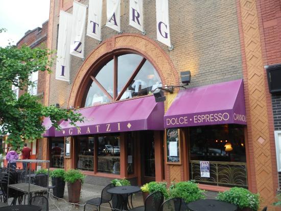 Gratzi : front of restaurant
