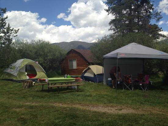 Elk Creek Campground and RV Park: Our tent site