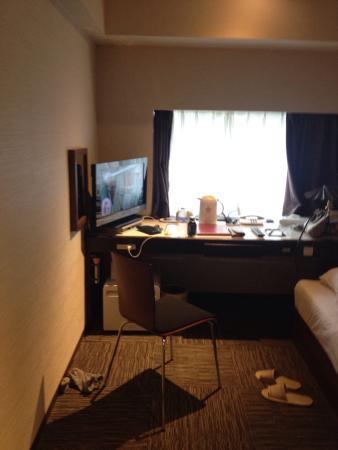 Koraku Garden Hotel: 窓から見えるドームもいいです