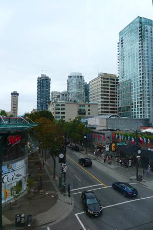View of Robson Street