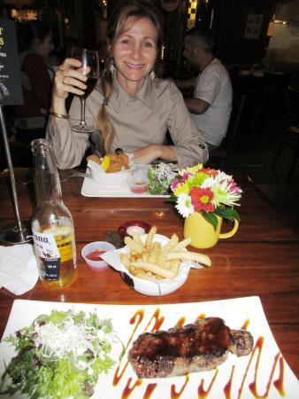 Elliott Stables: Tender steak from Big Little Grill