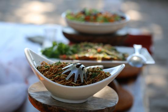 Wilderness Safaris Seba Camp : oh the food ... the food