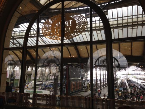 Windows to the train tracks