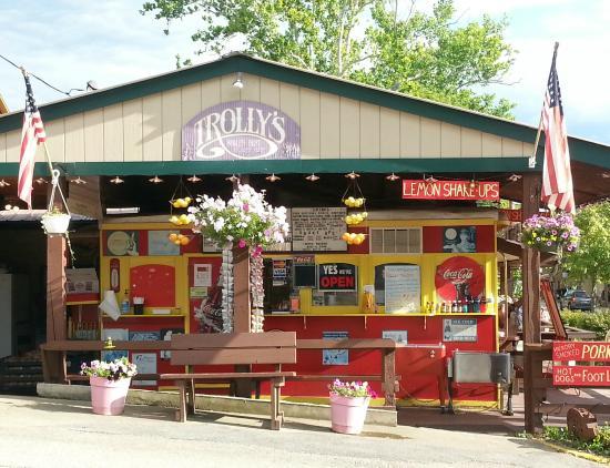 Trolley's BBQ: Trolly's street view